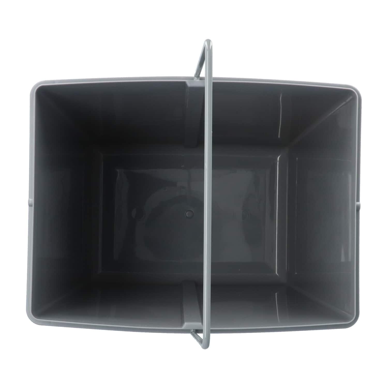 4cookz® Trio inbouw prullenbak 40cm - 2x 10 en 1x 20 ltr - Grijs