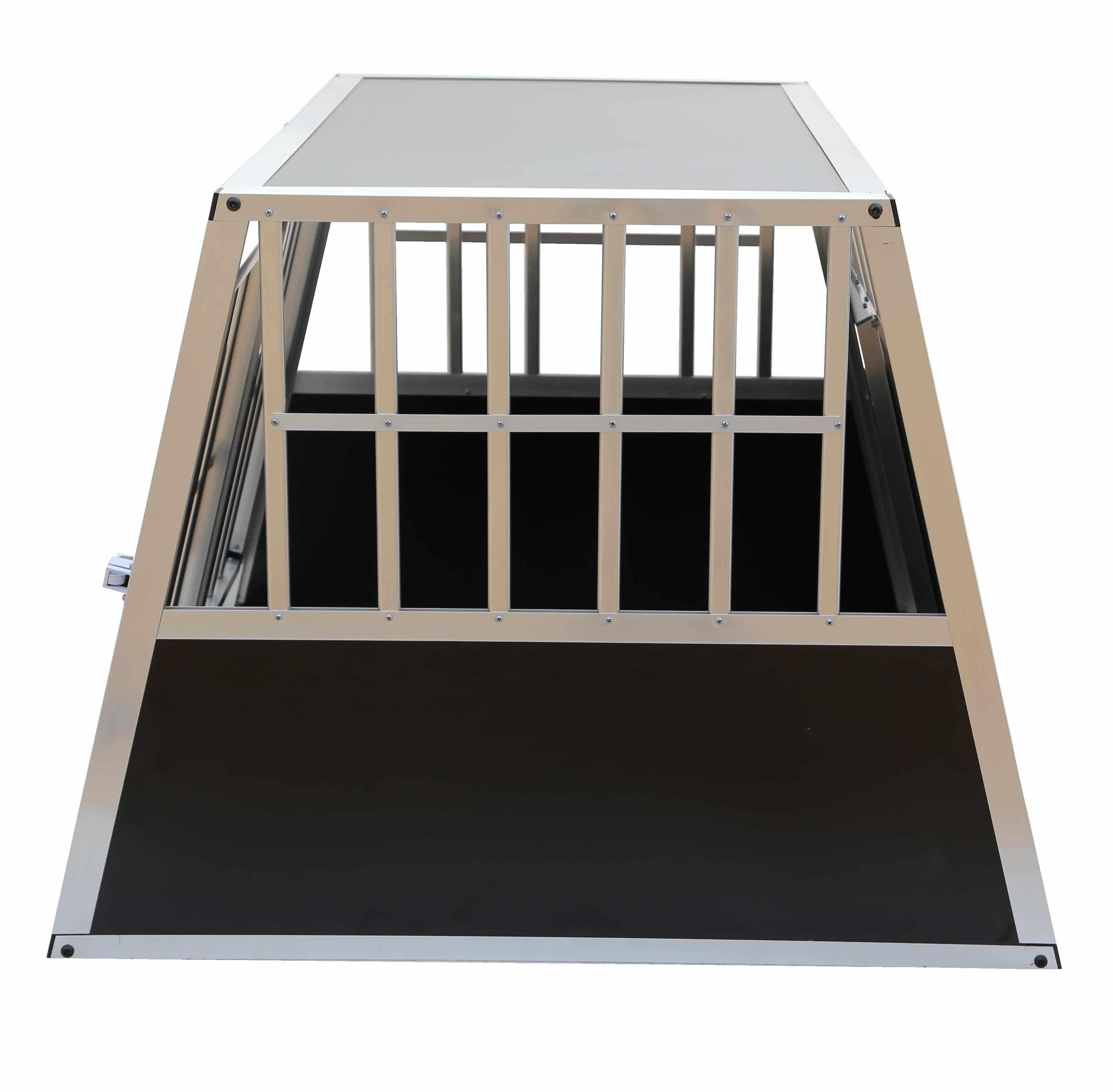 4animalz Trapeze Black Hondenbench voor 1 hond - 81x91x74 cm Medium