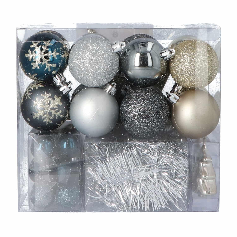 4goodz 44-delige Decoratieve Kerstballen Goud - binnen en buiten