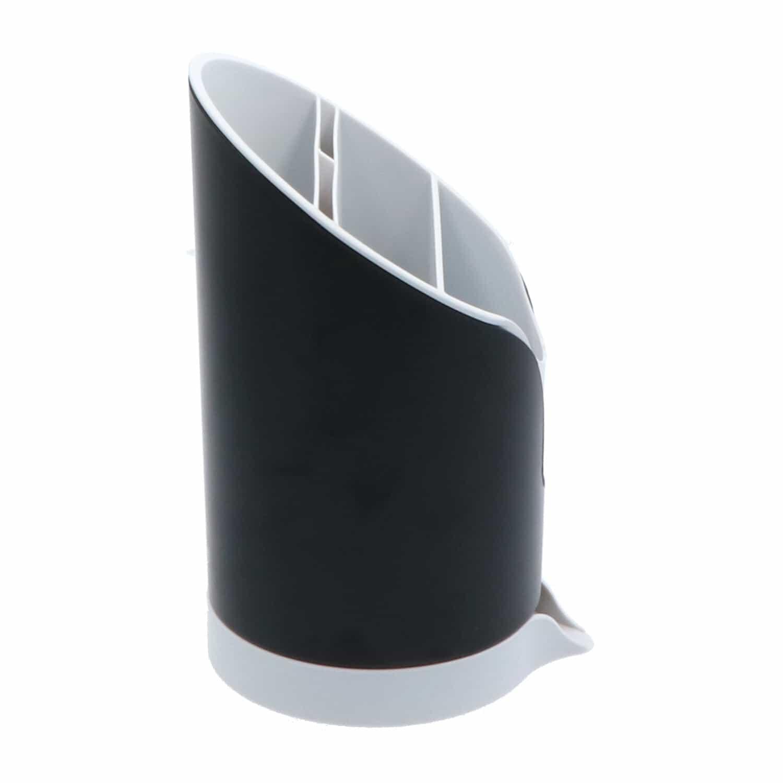 4goodz afdruipbak voor bestek NEO 11x20,5 cm - afwasrek bestek - Zwart