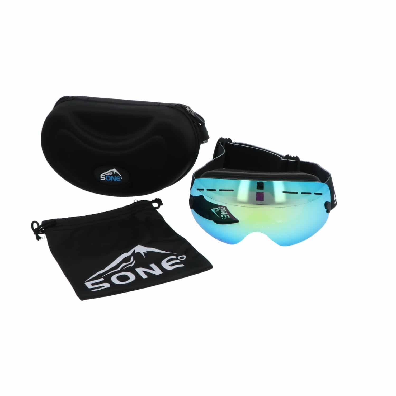 5one® Alpine 2 Gold revo Junior skibril - anti-condens - UV 400