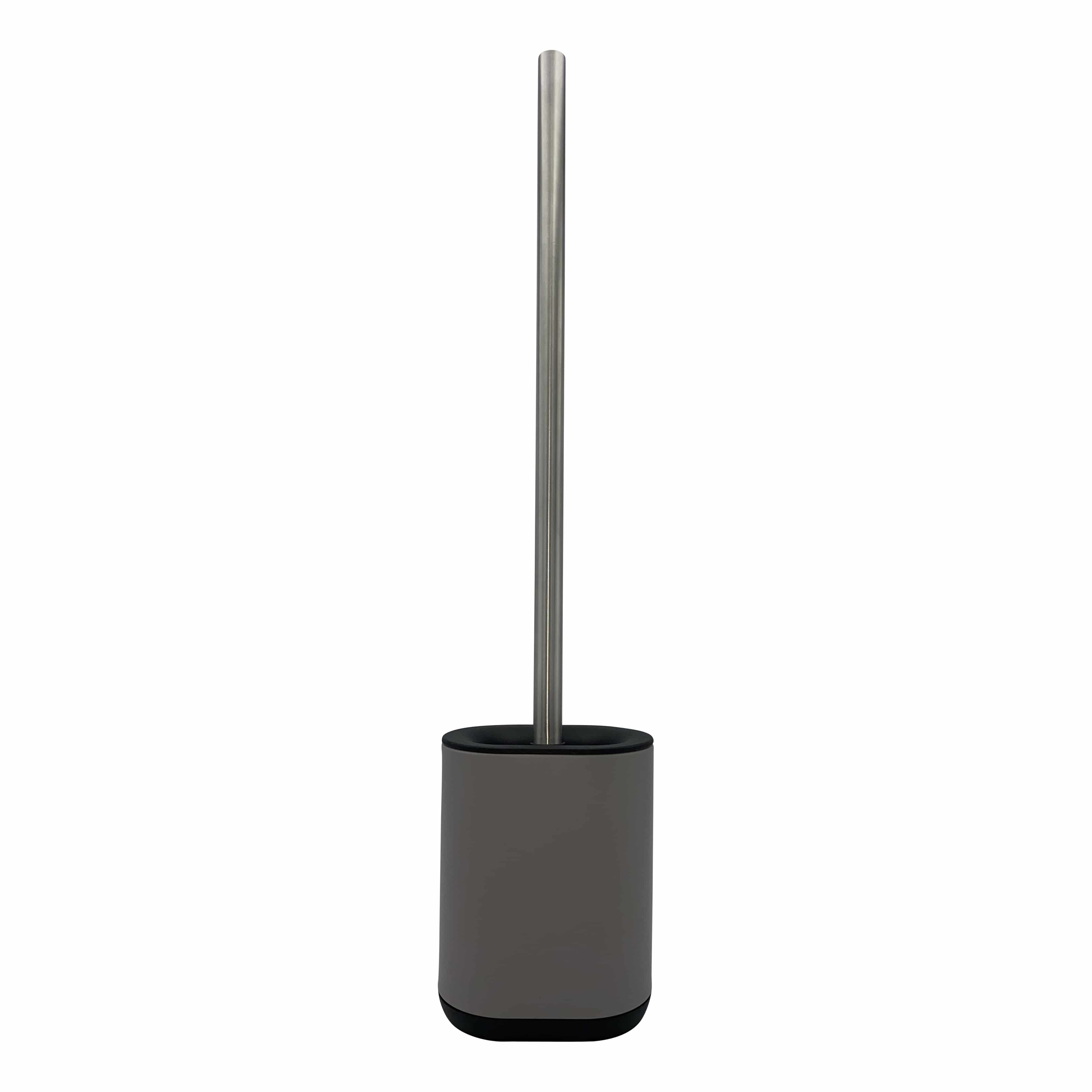 4goodz toiletborstel met extra lange steel - 11.4x7.7x52cm - Taupe