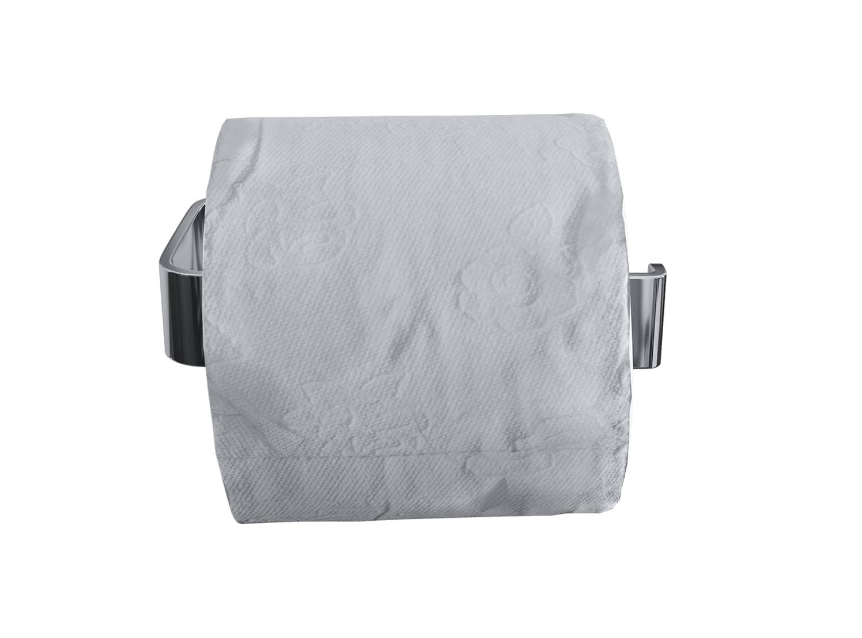 Luzzo® Piazzo Messing Toiletrolhouder - wc rolhouder - chroom