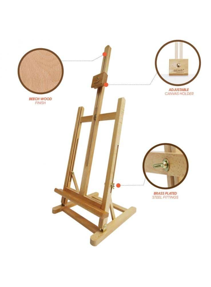 Mont Marte® traditionele tafel ezel XL - 32x27,5x102 cm