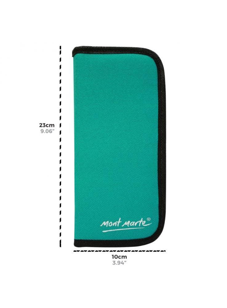 Mont Marte® Signature 11-delige penselenset waterverf in etui
