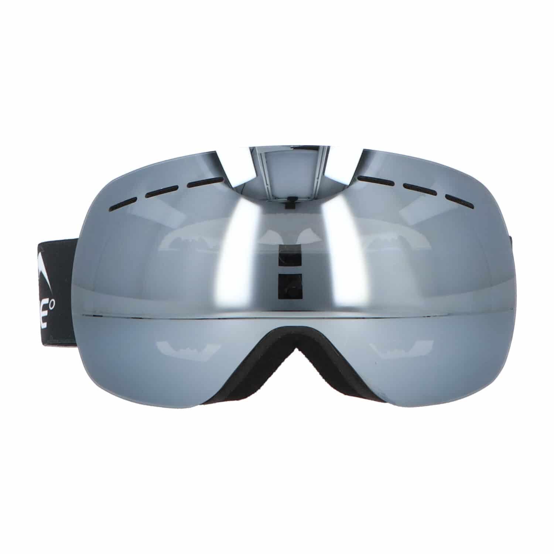 5one® Alpine 1 Silver anticondens skibril met bewaarcase - UV 400