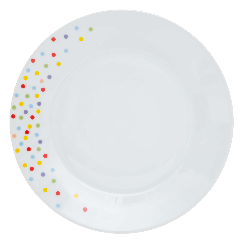 4goodz porseleinen servies 6 persoons 19 delig - Confetti