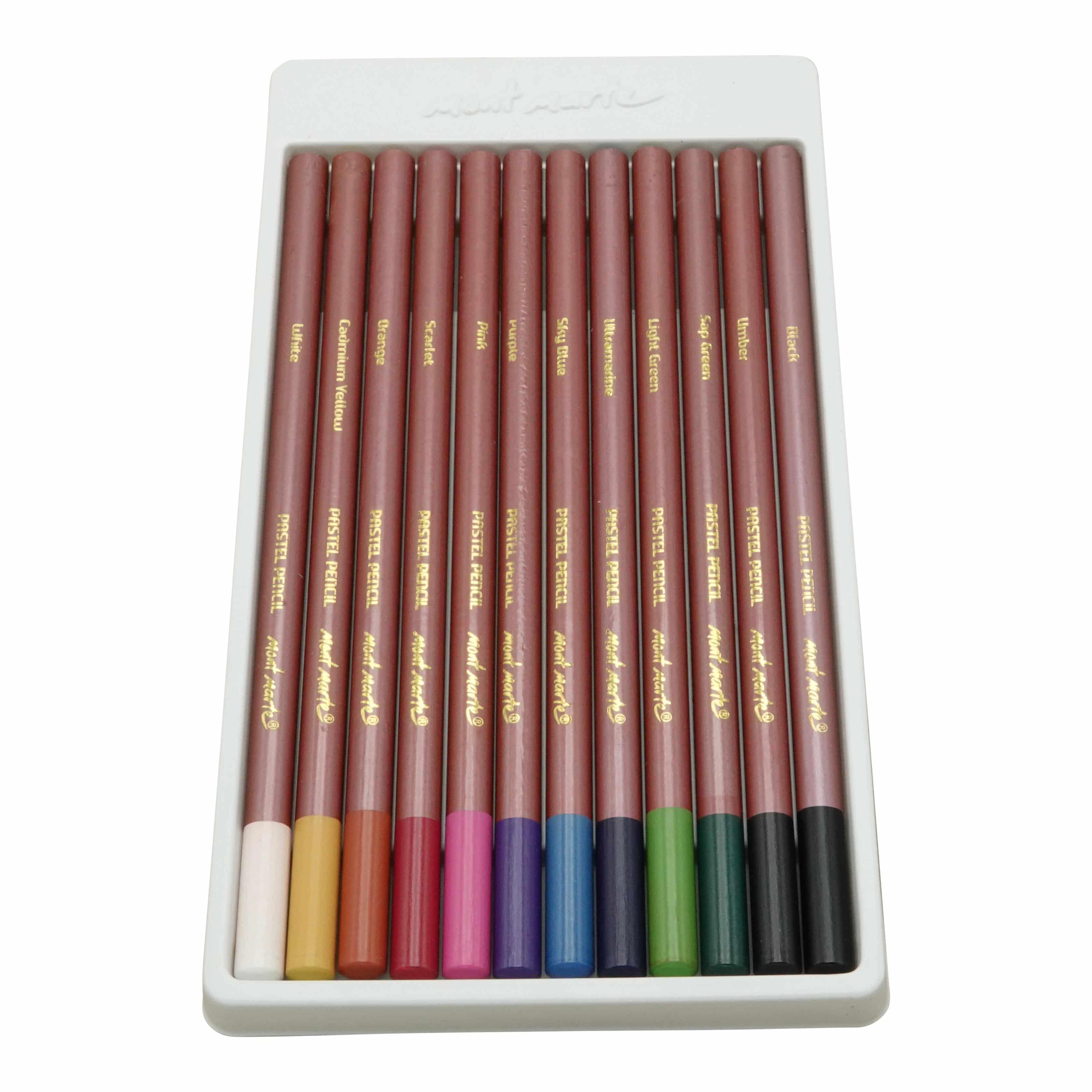 Mont Marte® pastel potloden 12 stuks