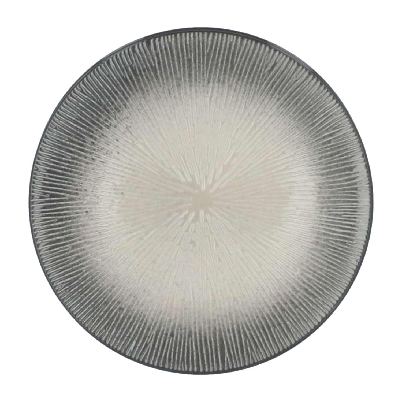 4goodz Porseleinen Ontbijt Borden Atelier set 6 stuks 21 cm - Grijs