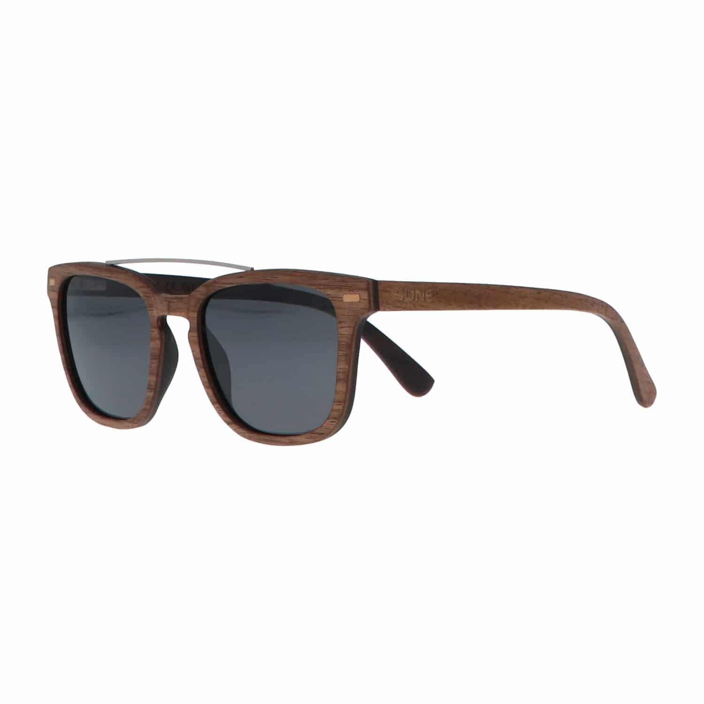 5one® Sardinia - houten zonnebril model Wayfarer Bridge - lens Grijs