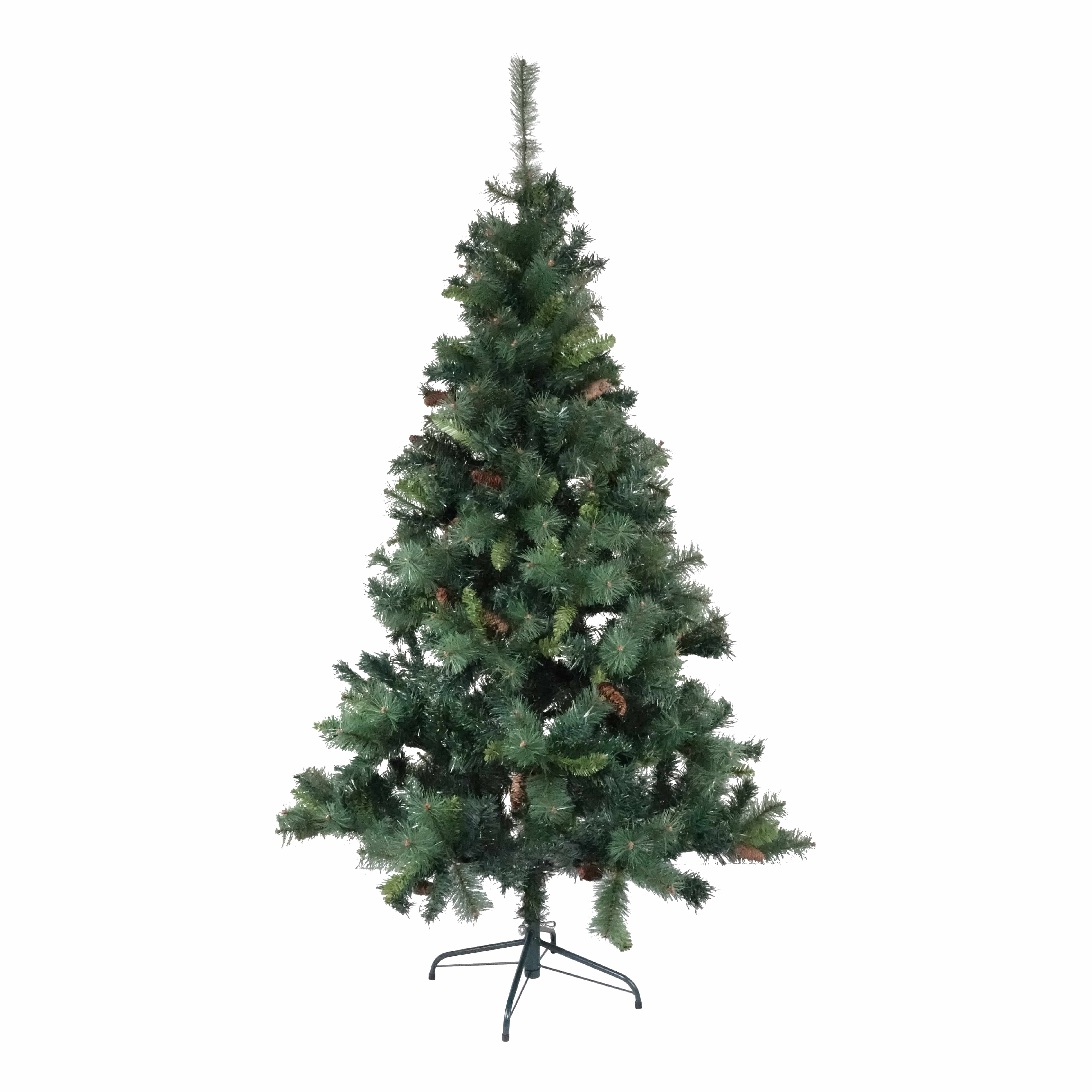 4Goodz kunstkerstboom Royal Majestic Spar 180 cm met Dennenappels