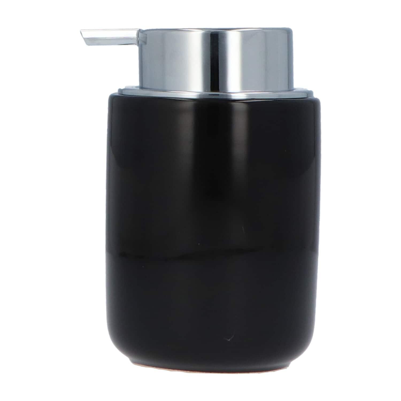 4goodz Keramiek Zeeppompje 300 ml - glanzend zwart