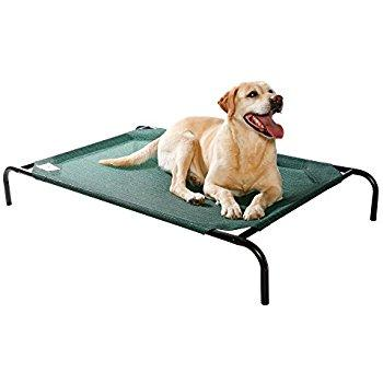 4animalz Ventilerend Honden Ligbed Large 110x80cm - Groen