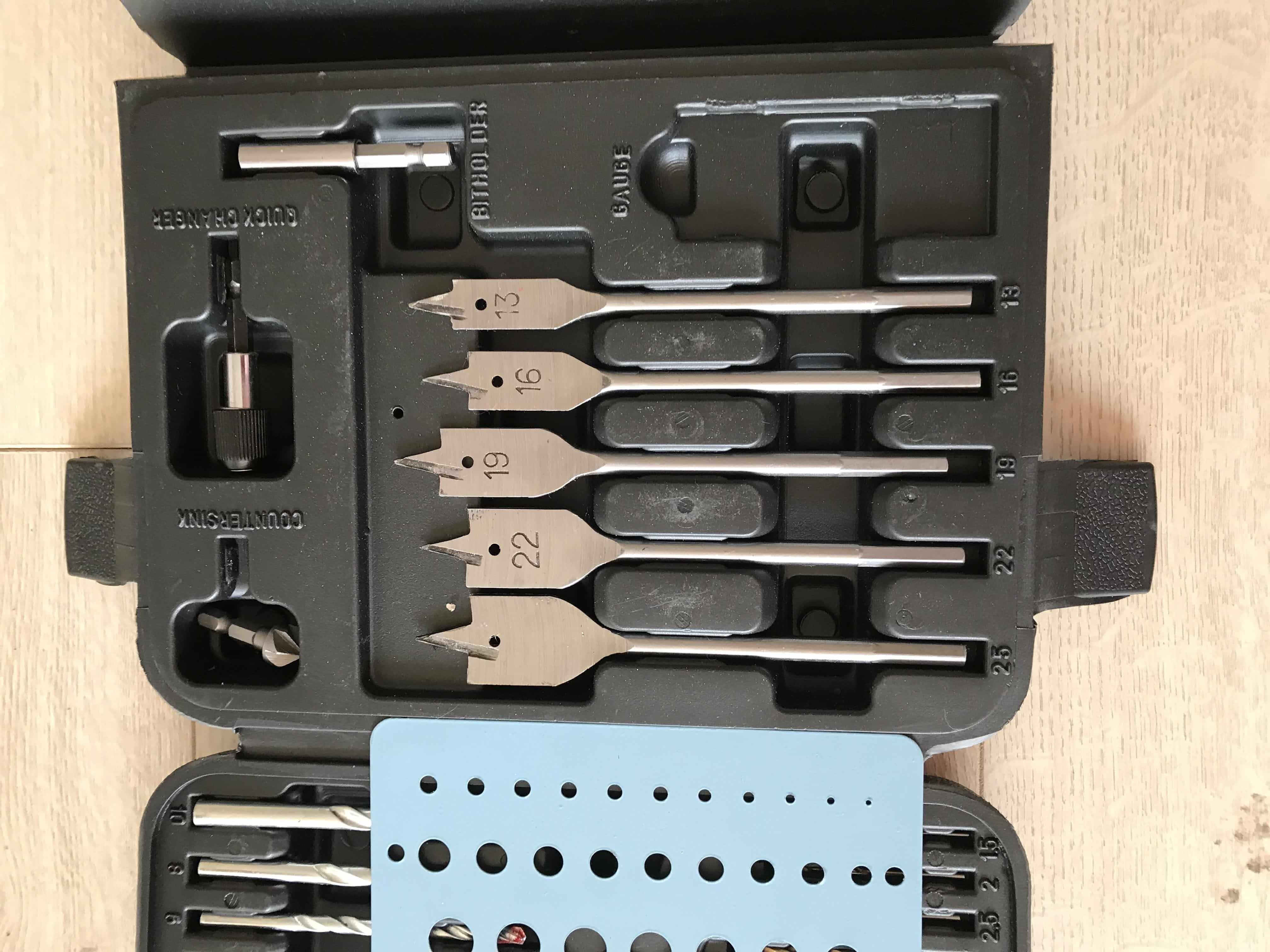 Hanse Werkzeuge 118 Delige Boor- en bitset