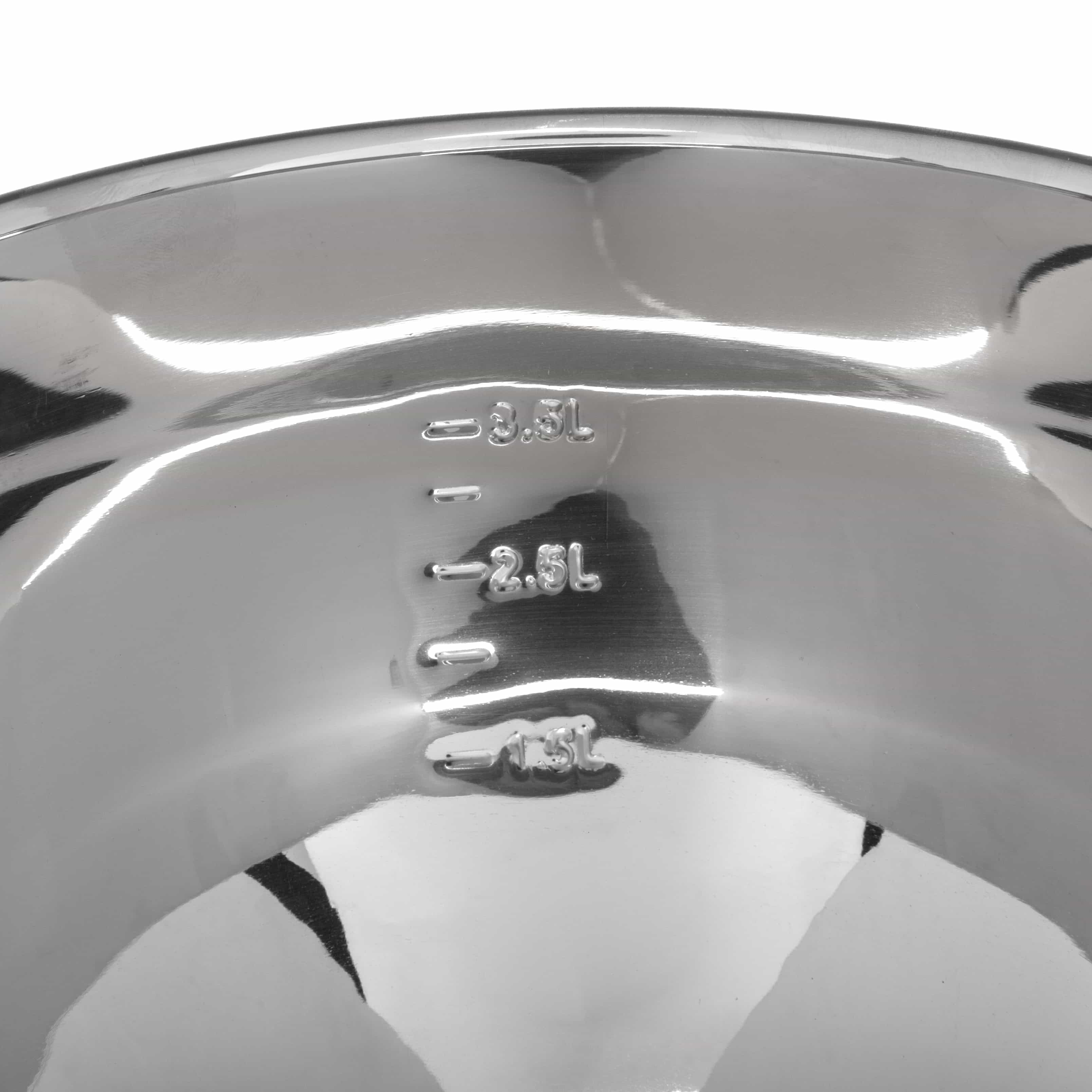 4goodz Slacentrifuge RVS inhoud 3,5L - sladroger van RVS