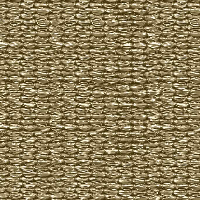 hanSe® Schaduwdoek Vierkant Waterdoorlatend 4,5x4,5 m - zonnedoek Zand