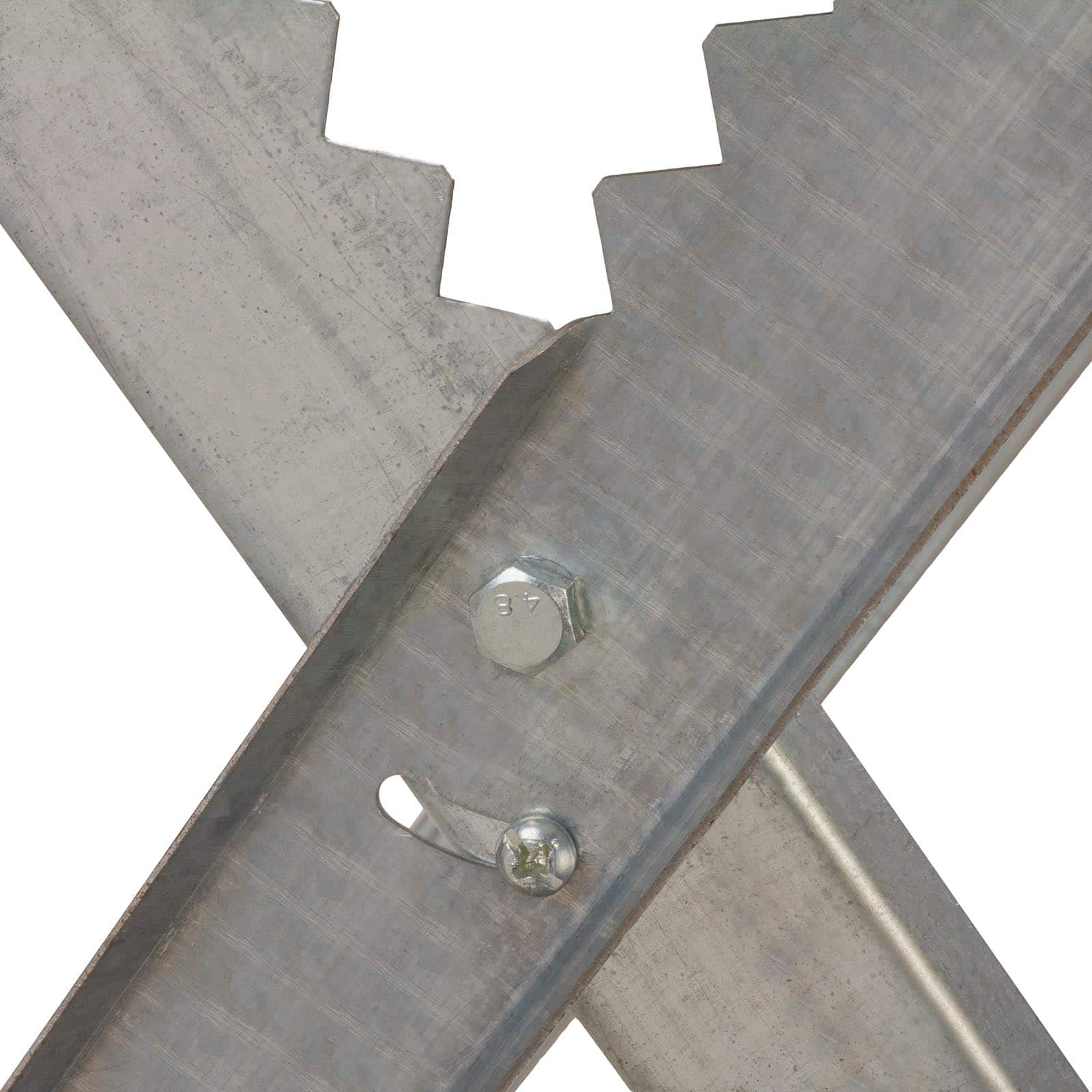 Hanse Werkzeuge® Stevige Opvouwbare Zaagbok 81x80,5x79cm - 150 kg
