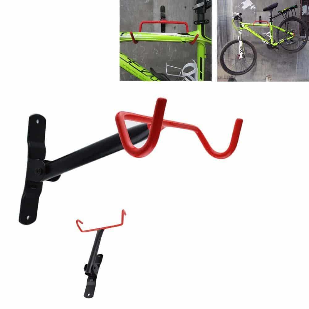 4toolz opklapbare wandbeugel fiets 25cm breed bij 28cm diep