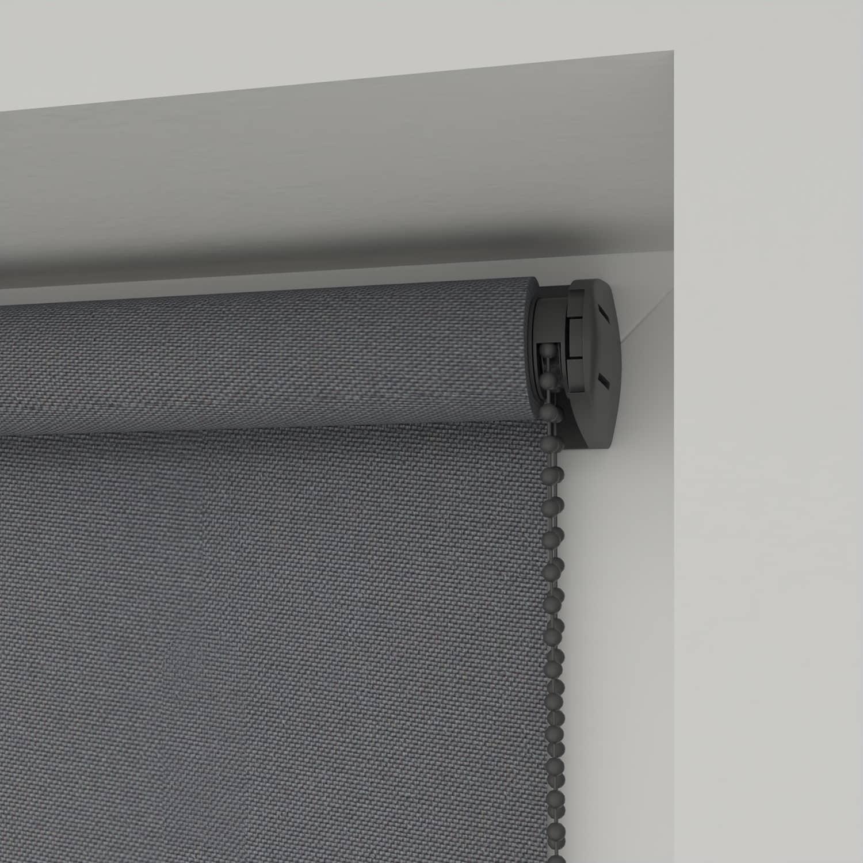 4Goodz Rolgordijn Verduisterend Easy 120x180 cm - Grijs