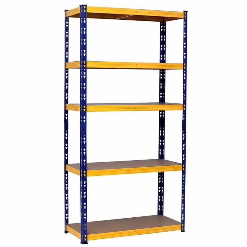 Hanse Werkzeuge Opbergrek tot 875 kg - 180x90x40 cm - Blauw/Oranje
