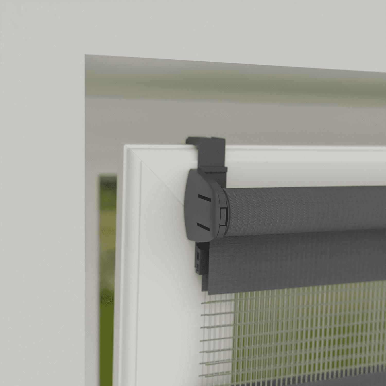 4goodz Duo Rolgordijn Easy Lichtdoorlatend 45x180 cm - Donkergrijs