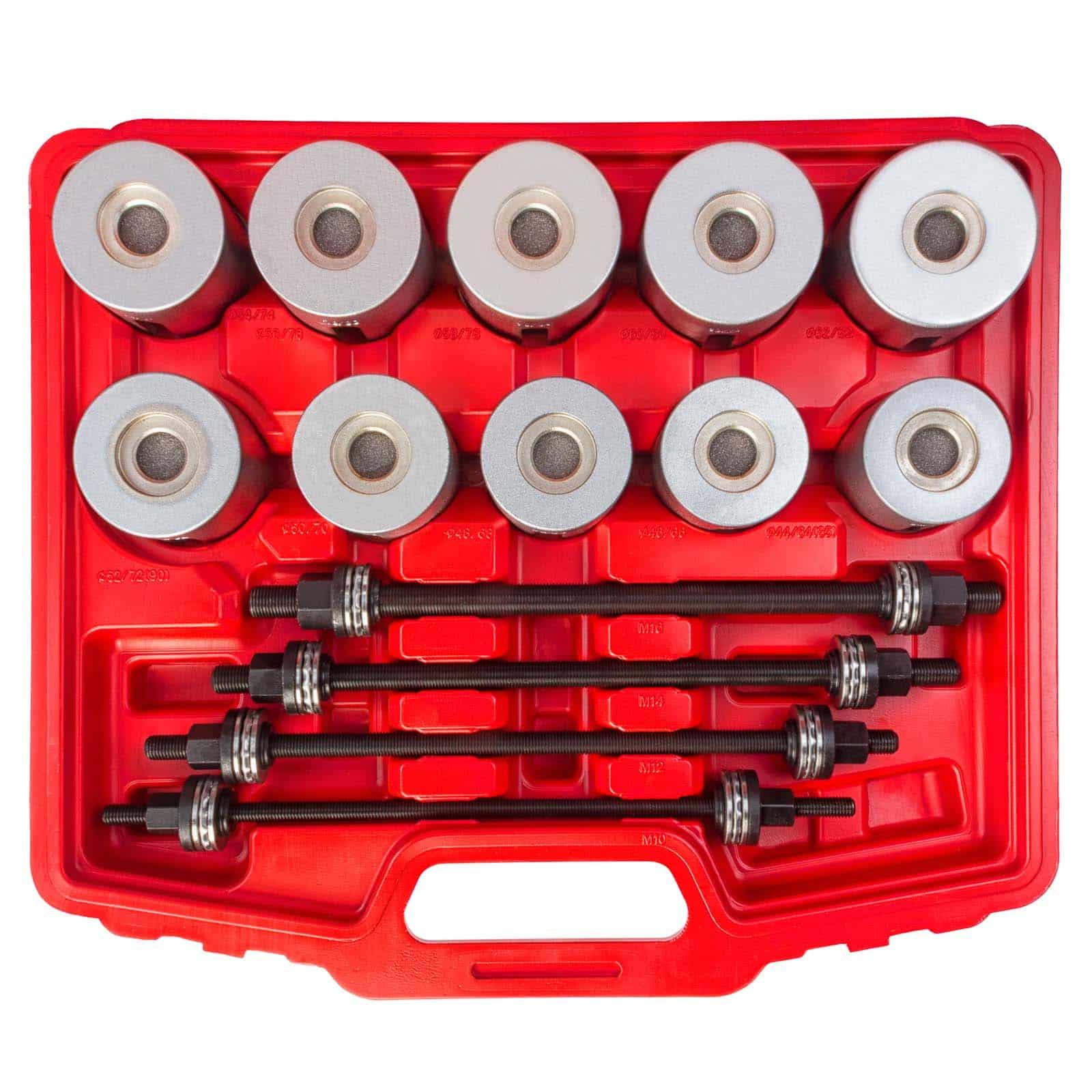 hanSe® Werkzeuge 24-delige wiellager montage en demontage set