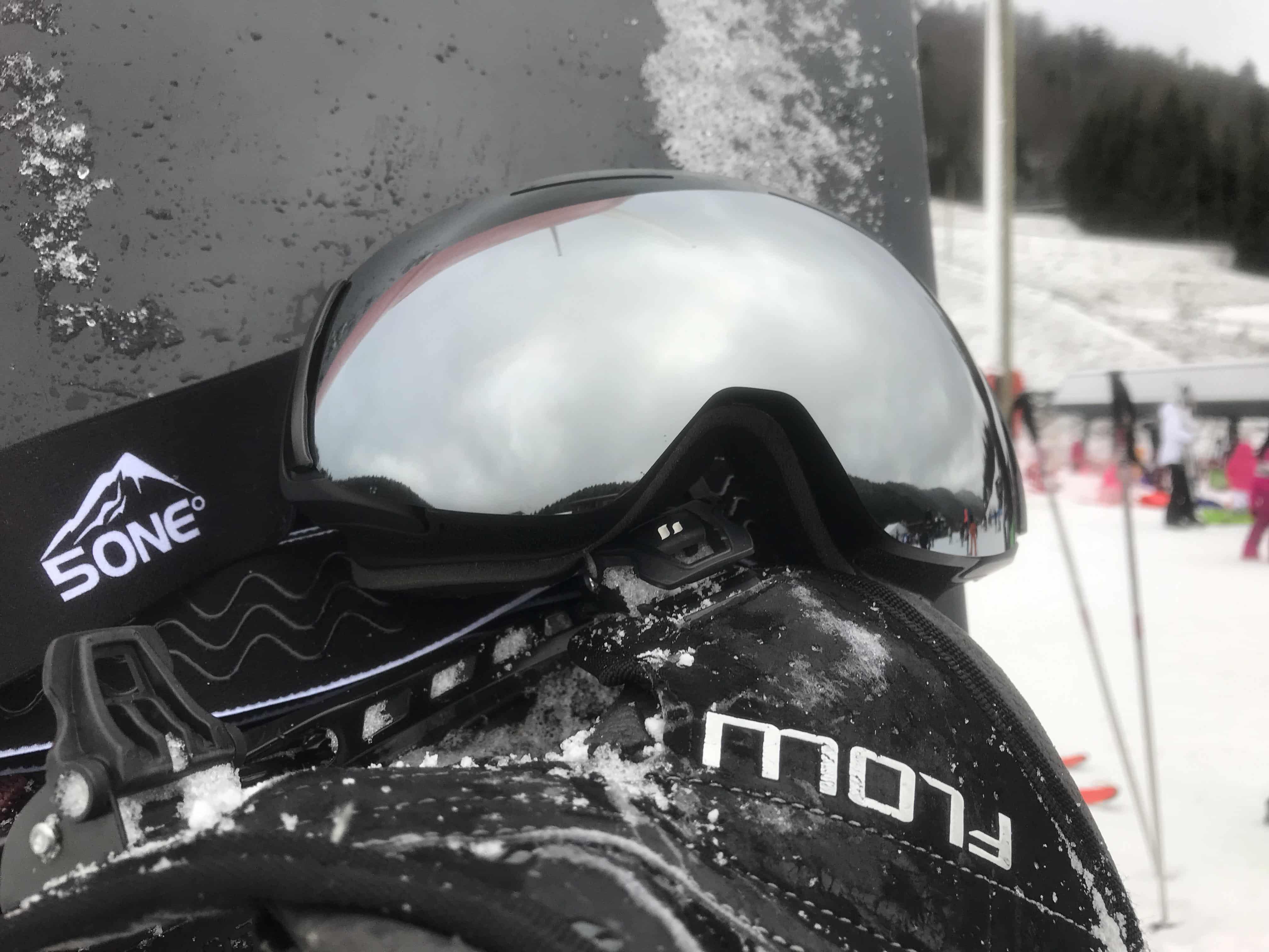 5one® Alpine 7 extra losse lens Revo Grey - grijs spiegelglas