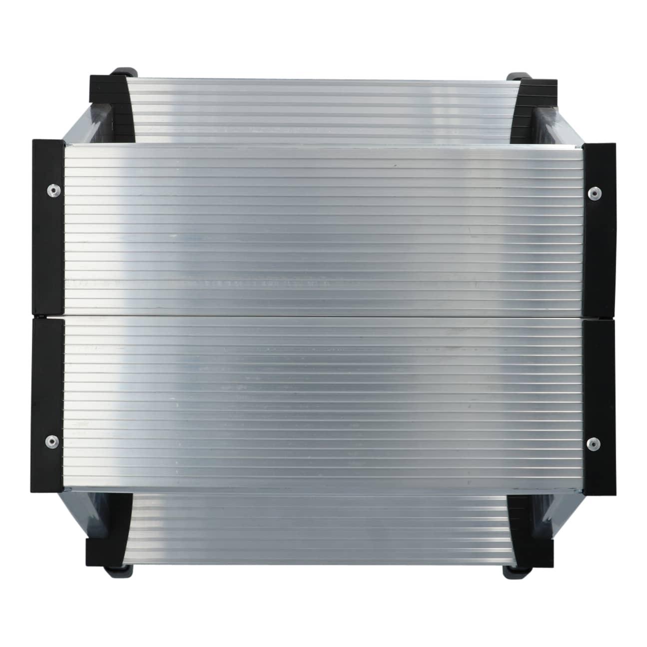 4goodz Stevige aluminium keukentrap met 2 treden - M - 40,5x48x40 cm