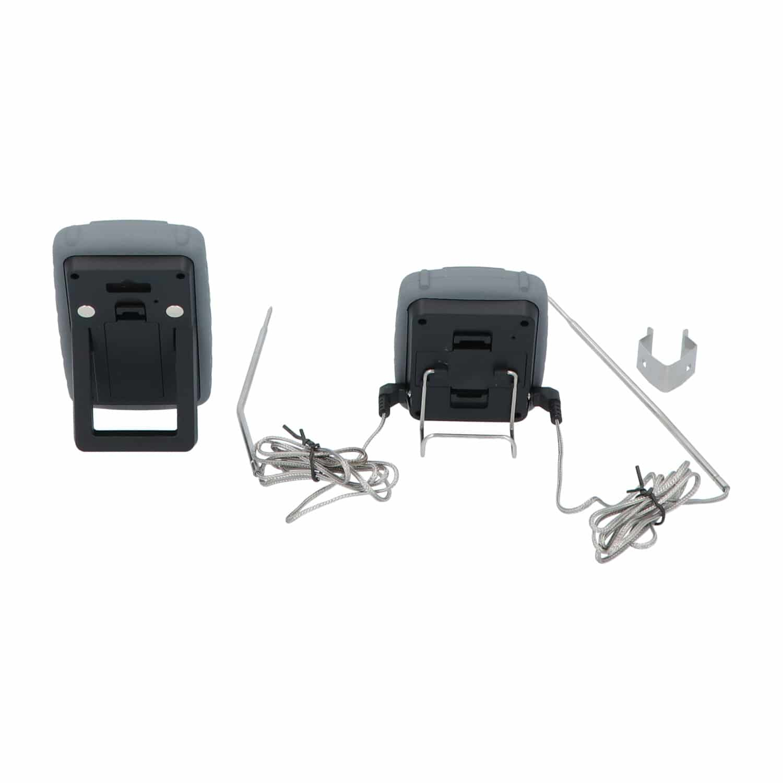 4cookz® 2 sensoren draadloze BBQ thermometer - 0-300 gr