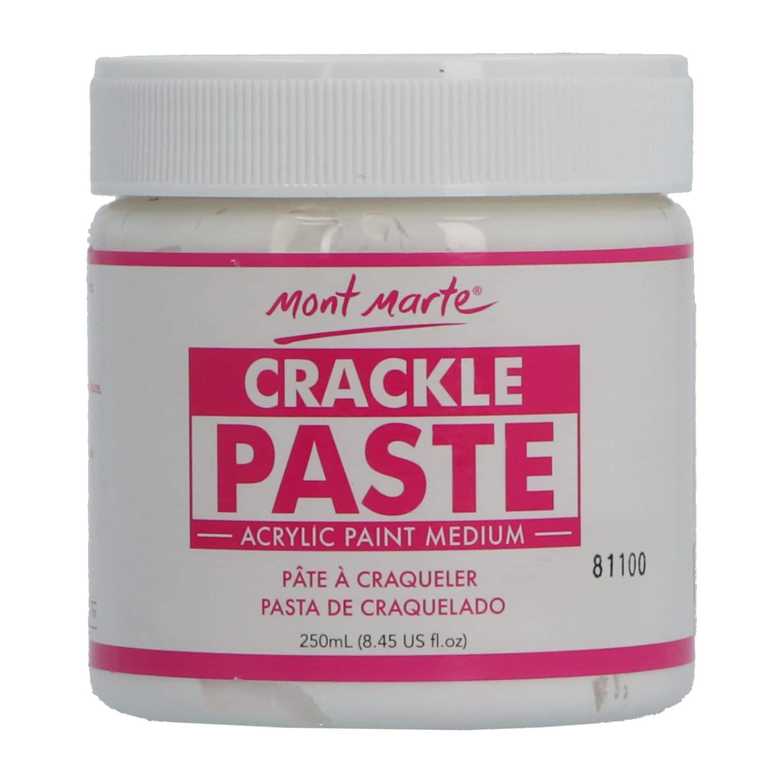 Mont Marte® craquelé pasta 250ML - textuurpasta - crackle verf