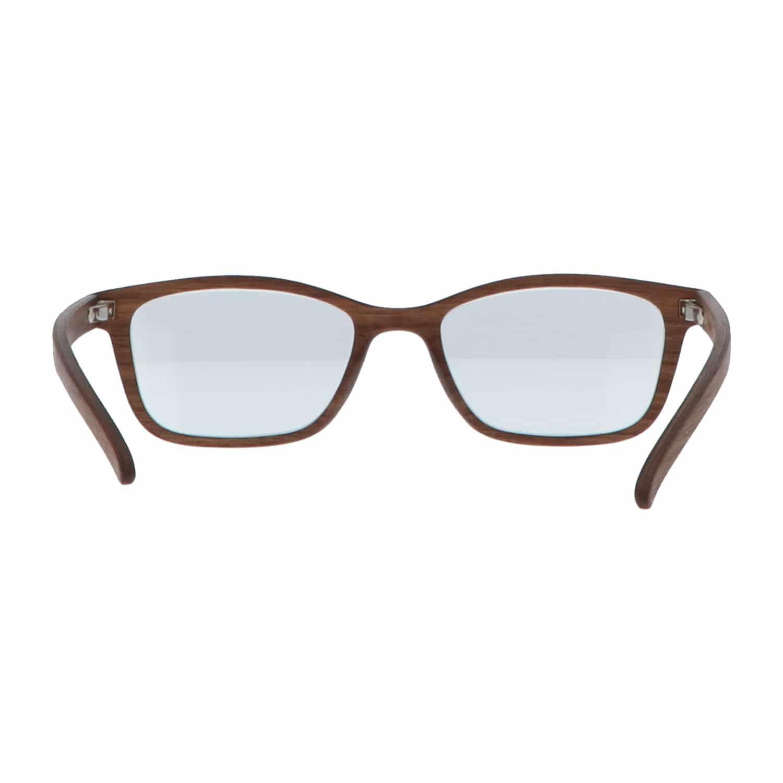 5one® Walnut Brown Leesbril +1 - Houten Leesbril +1 met bruin montuur