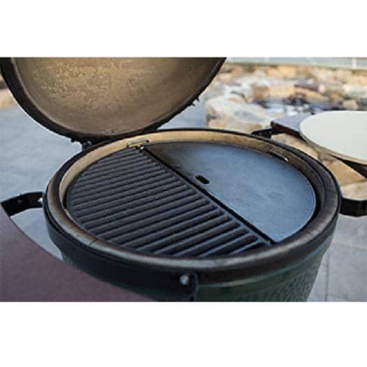 4cookz® Grillplaten Gietijzer - 2 universele Halve BBQ roosters 47 cm