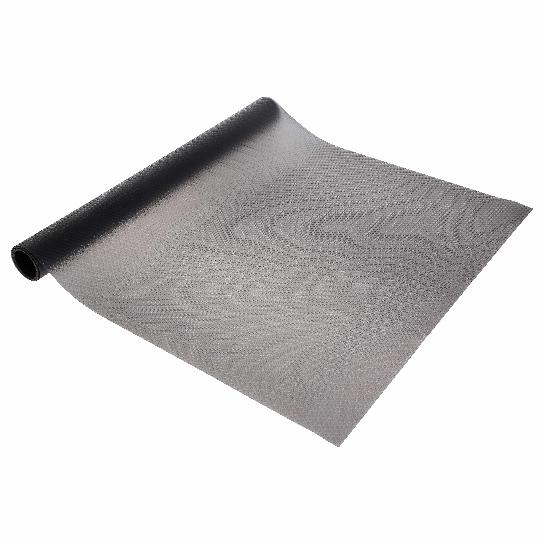 4goodz anti-slip ladefolie 50x150 cm beschermd lade en inhoud - Grijs