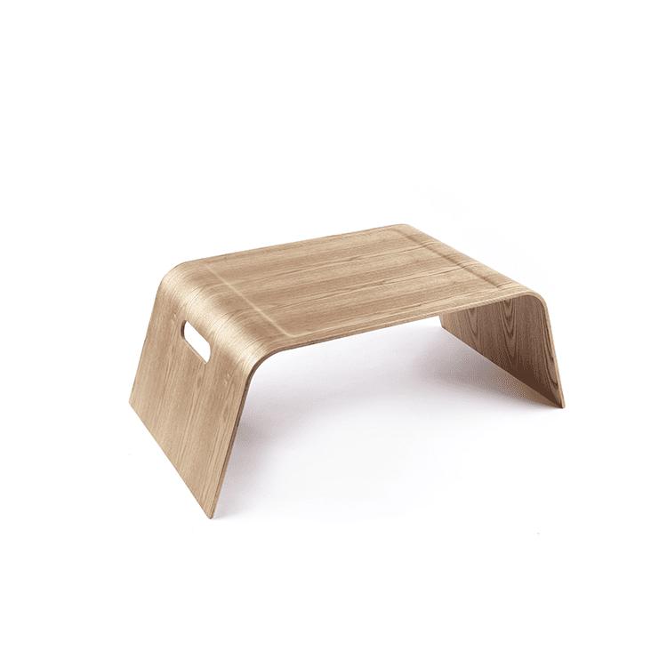 4cookz® Design dienblad / Laptoptafel van Wilgenhout - 56x33x22 cm