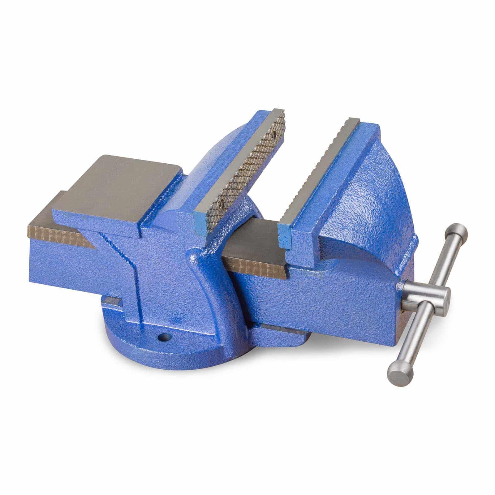 Hanse Werkzeuge Gietijzeren Bankschroef 150 mm - Blauw