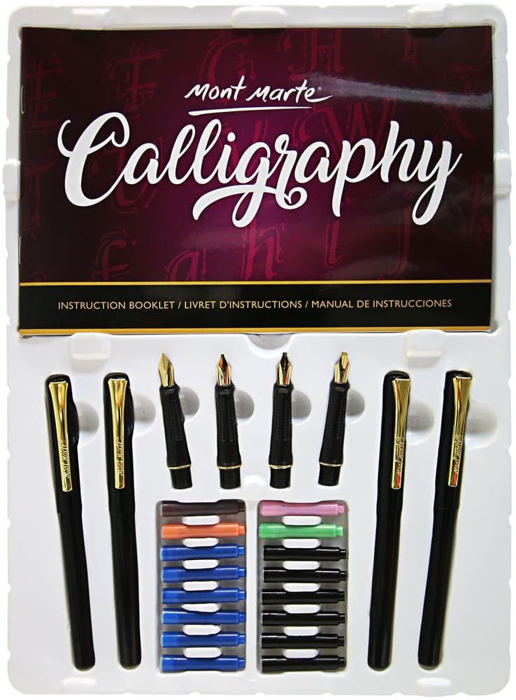 Mont Marte® 26-delige kalligrafie set - kalligrafiepennen