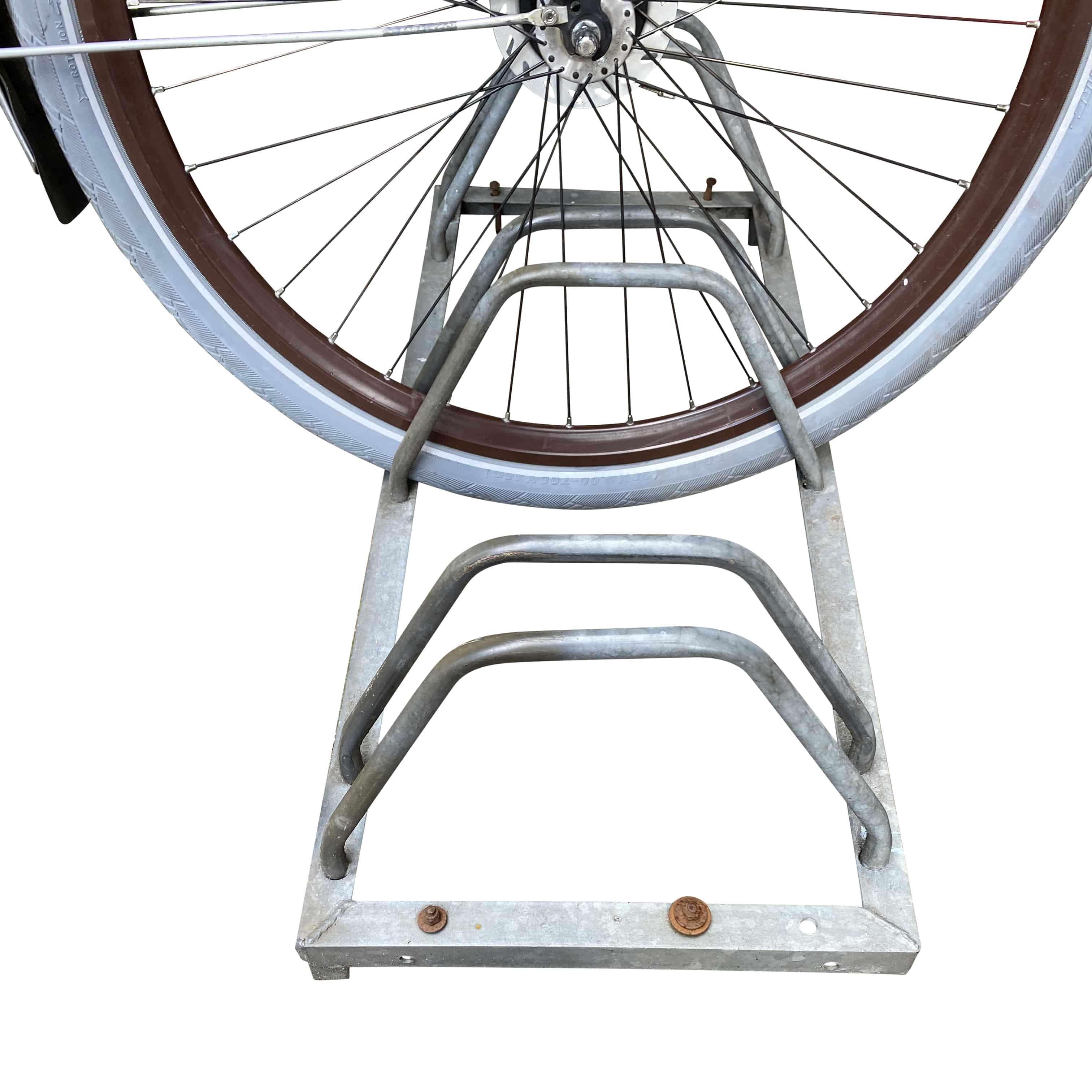 4toolz stalen fietsenrek voor 4 fietsen - Zilver