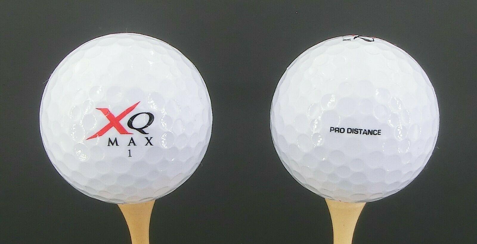 Doos met 50 XQ-MAX Golfballen - Titanium Core - 352 dimples - 50 stuks