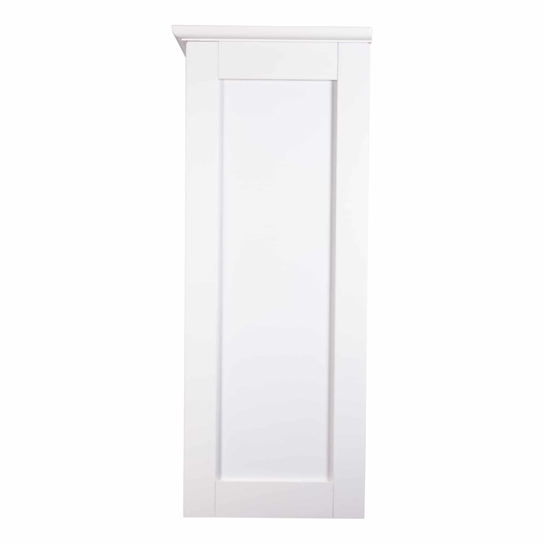 4goodz Gelakt MDF badkamer Wandkast Miami 52x22x55 cm - Wit