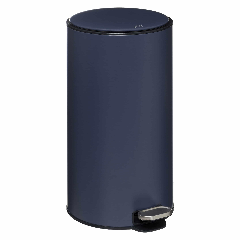 4Goodz Pedaalemmer Rond 30 liter met uitneembare binnenbak - Blauw