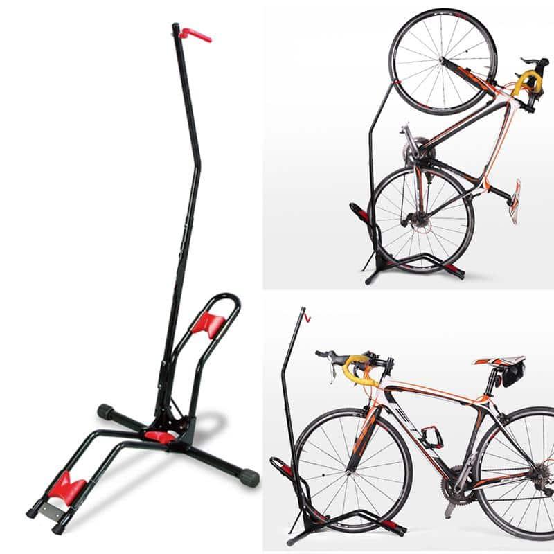 4toolz Universeel Display Fietsenrek Deluxe - fiets standaard - zwart