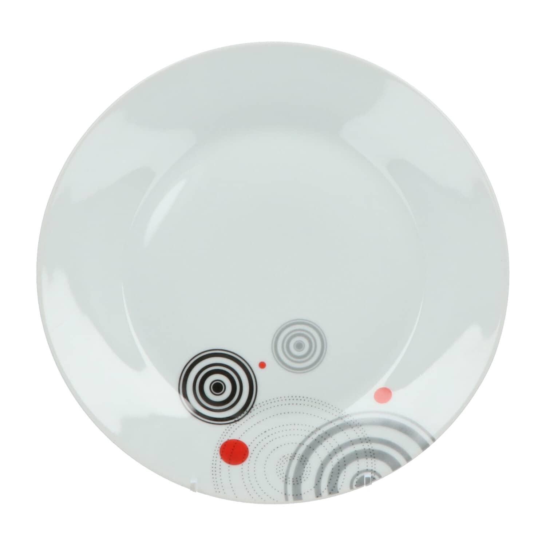 4goodz porseleinen servies 6 persoons 18 delig - Cirkels