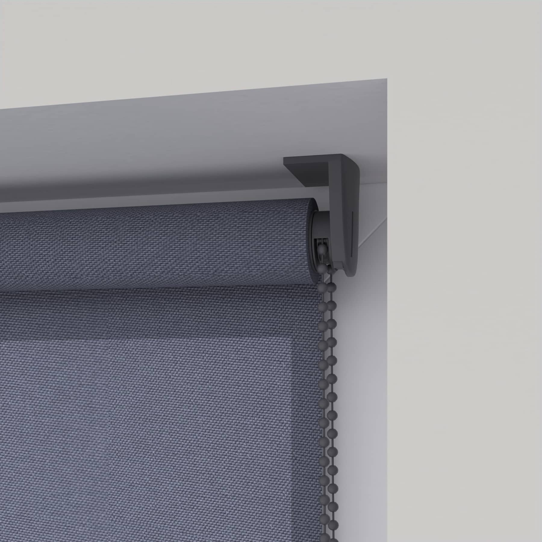 4Goodz Rolgordijn Lichtdoorlatend Easy 150x180 cm - Grijs