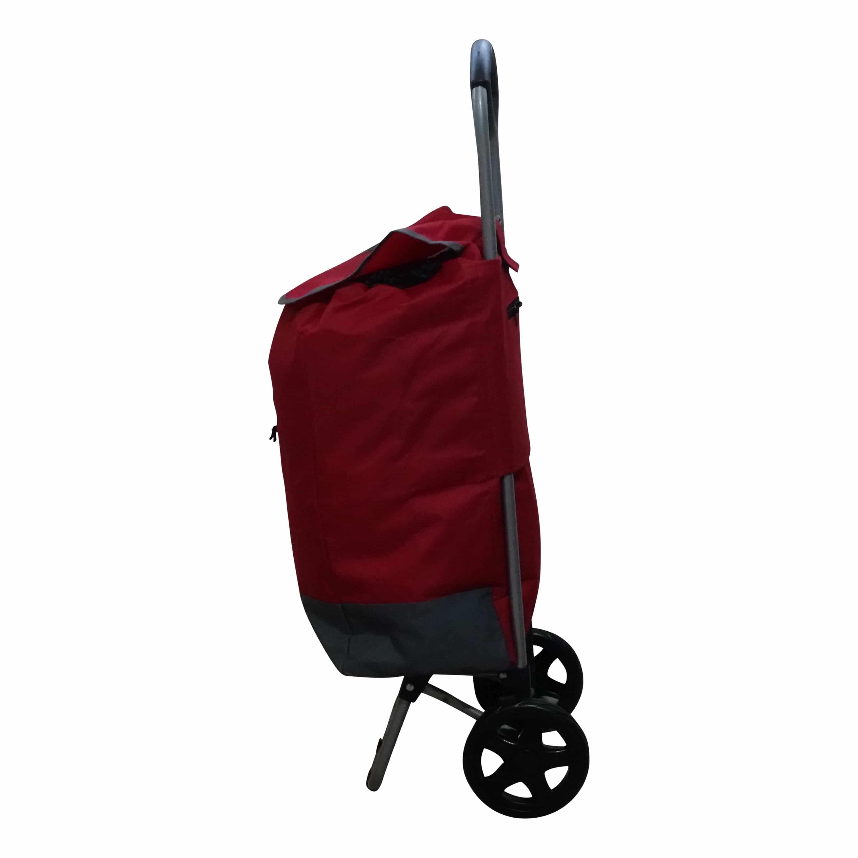 4goodz Boodschappentrolley 30 liter rood