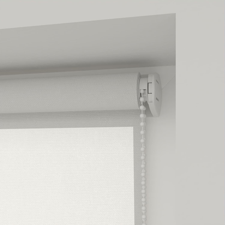 4goodz Rolgordijn Lichtdoorlatend Easy 45x90 cm - Wit