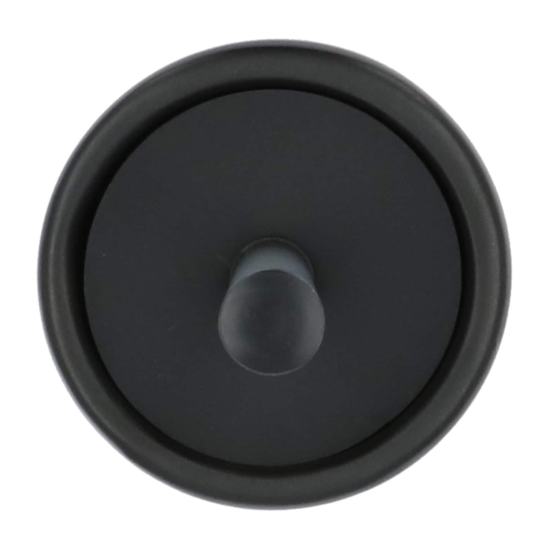 4goodz Solid zandsteen Toiletborstel - Zwart