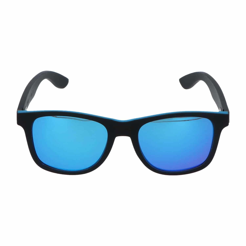 5one® St. Barth Black Blue - Bamboo - wayfarer zonnebril