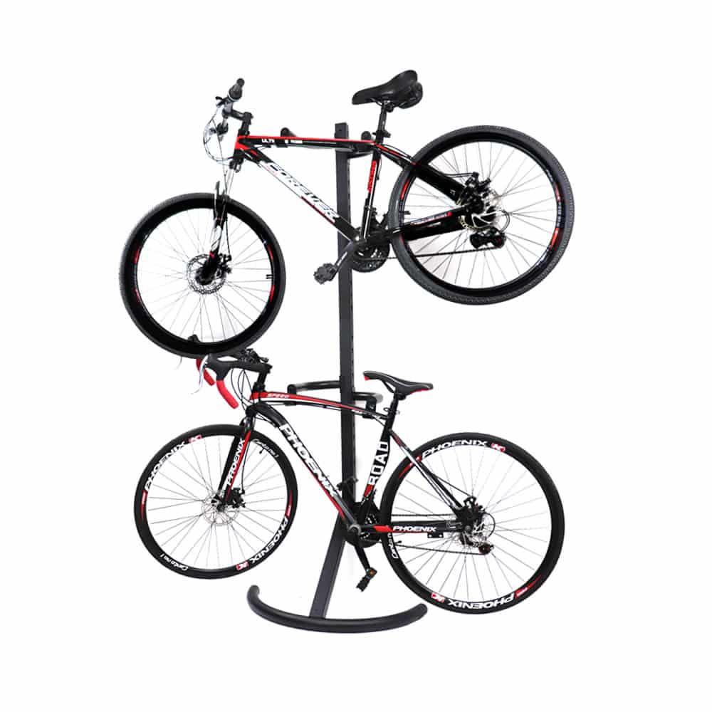 4bikez Fiets Display Standaard voor 2 fietsen - Zwart