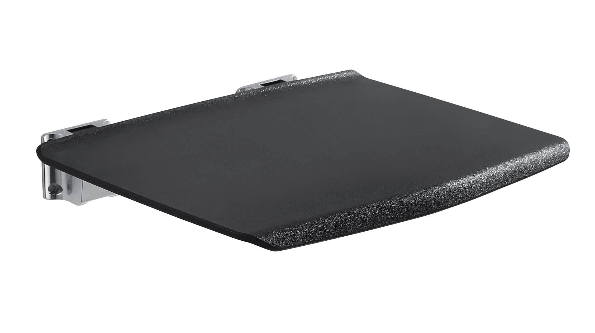 Luzzo® Fisso Opklapbaar Douchezitje Wandmontage - max 150 kg - Zwart