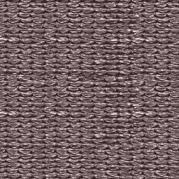 hanSe® Schaduwdoek Rechthoek Waterdoorlatend 6x7 m - zonnedoek - Taupe